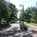 Hauptstraße durch Wieck a.Darß