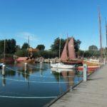 Wiecker Hafen  - Anlegestelle für Zeesboote und Sportboote