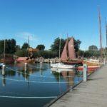 Der Wiecker Hafen bieten schöne Fotomotive - zu jeder Jahreszeit